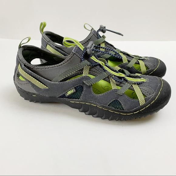 Jambu Shoes - Jambu Pisces Women's Navy Gray Neon Water Shoes